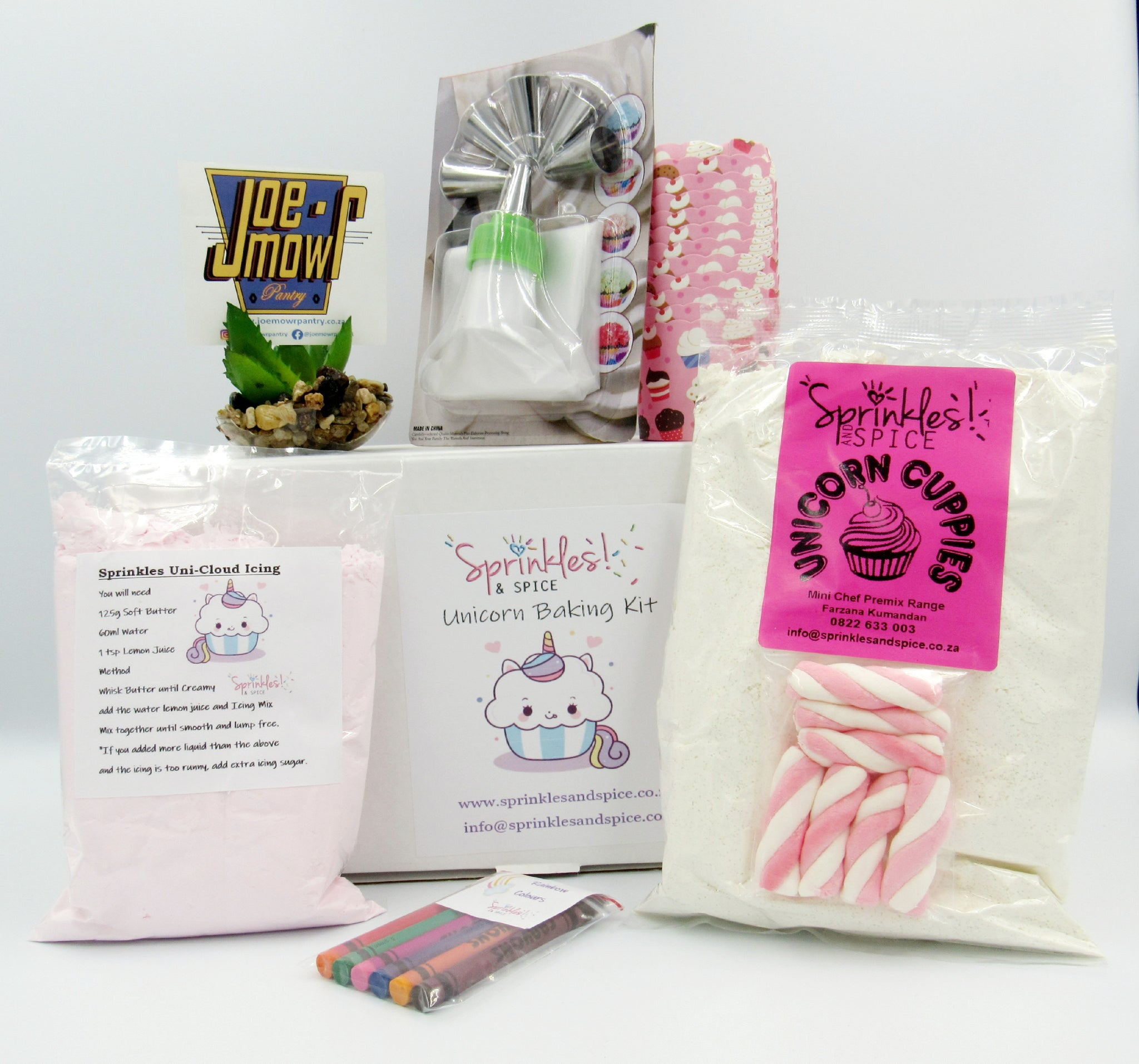 Sprinkles and Spice Unicorn Cuppies Baking Kit