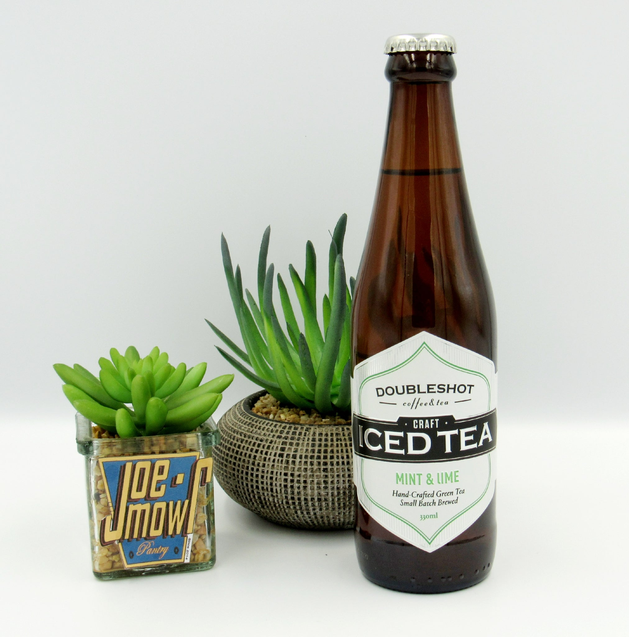 Doubleshot Mint & Lime Ice-tea 330ml singles