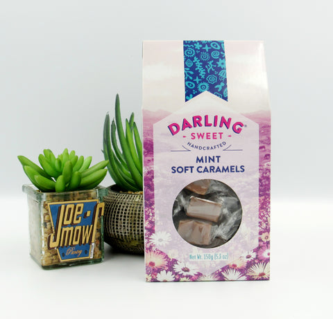 Darling Sweet Mint Soft Caramels 150g