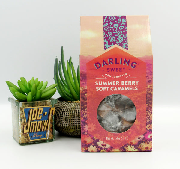Darling Sweet Summer Berry Soft Caramels 150g