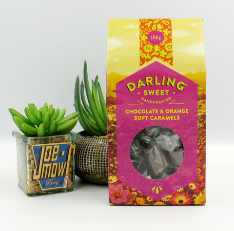 Darling Sweet Chocolate & Orange Soft Caramels 150g