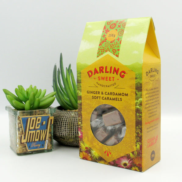 Darling Sweet Ginger & Cardamom Soft Caramels 150g
