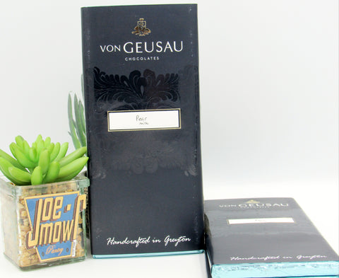 Von Geusau - Pear Milk Chocolate slab 100g