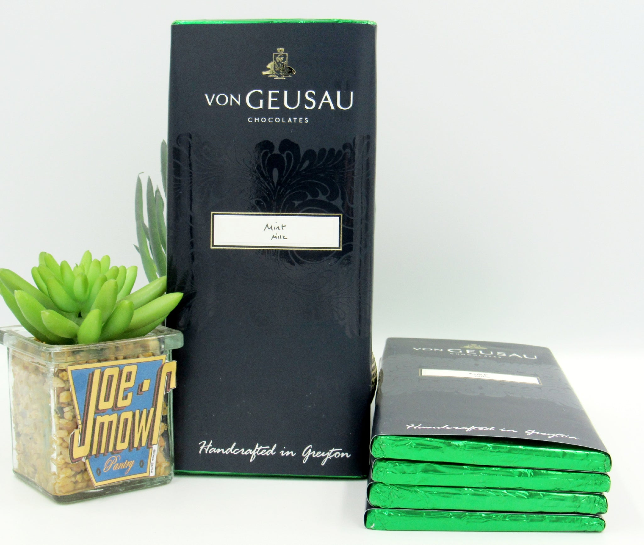 Von Geusau - Mint Milk Chocolate slab 100g
