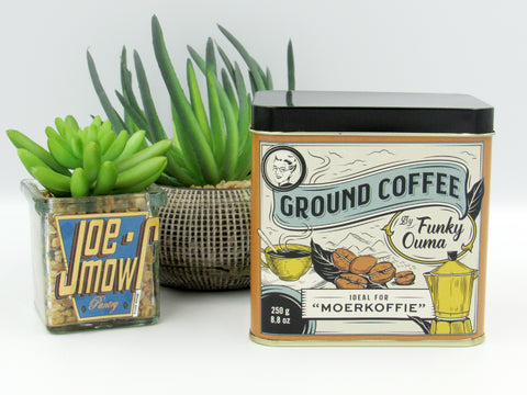 Funky Ouma Ground Coffee Tin 250g
