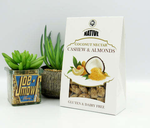 Native Coconut Nectar Caramelised Cashew and Almonds (100g)
