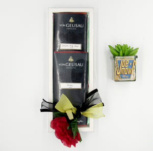 Chocolate rose gift set