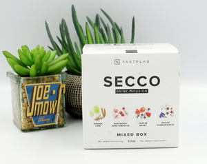 Secco Mixed box Drink Infusion 8 sachets