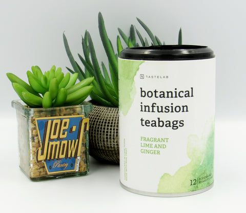Secco Botanical Infusion Teabags Fragrant lime & Ginger