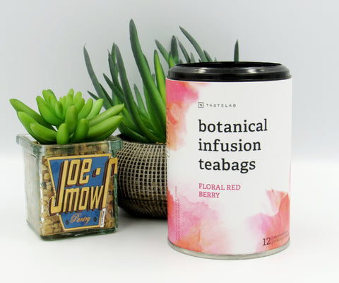 Secco Botanical Infusion Teabags Floral Red Berry