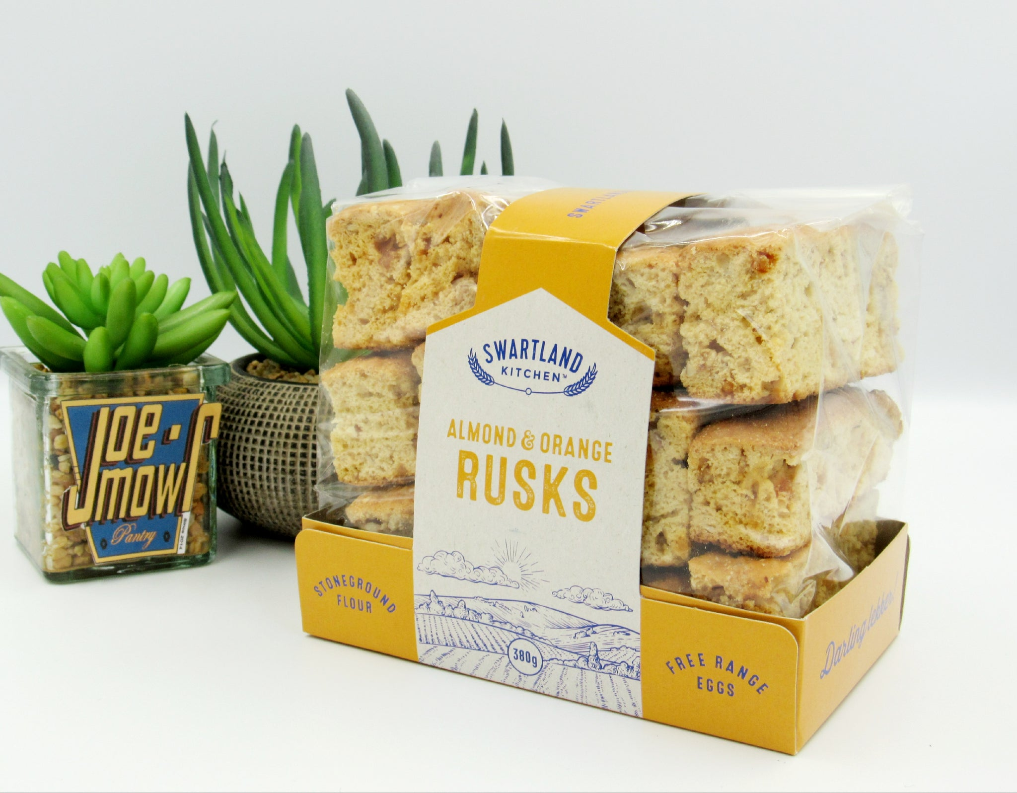 Swartland Kitchen Almond & Orange Rusks 380g