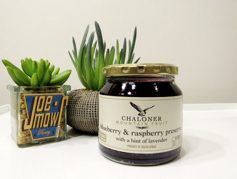 Chaloner Blueberry & Raspberry Preserve With A Hint Of Lavender 300g
