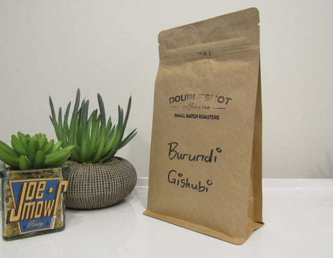 Doubleshot Muzuzu Burundi Ground (filter/drip) coffee 200g