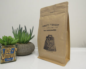 Doubleshot Cowbell Ground (filter/drip) coffee 200g