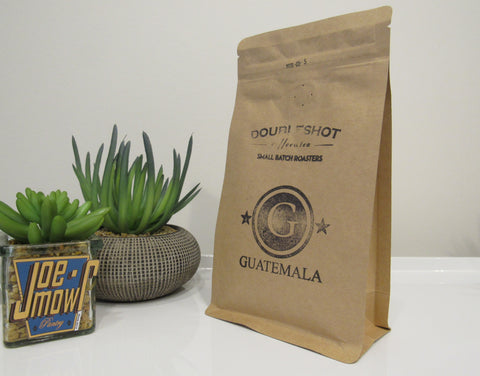 Doubleshot Guatamala Alom Ground (filter/drip) coffee 200g