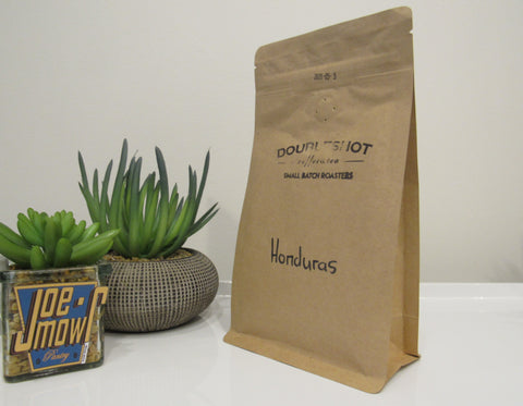 Doubleshot Honduras Organic Ground (filter/drip) coffee 200g