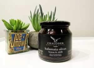 Chaloner Kalamata Olives With Lemon & Chilli 285g