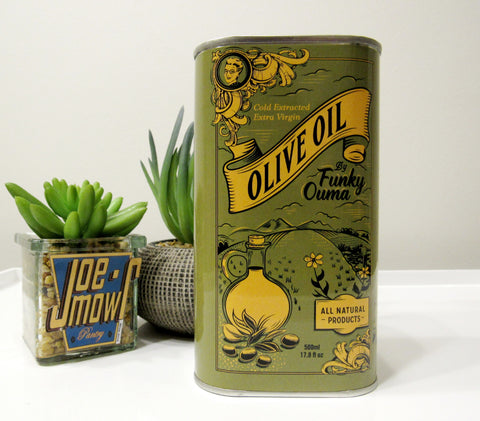 Funky Ouma Extra Virgin Olive Oil Tin 500ml