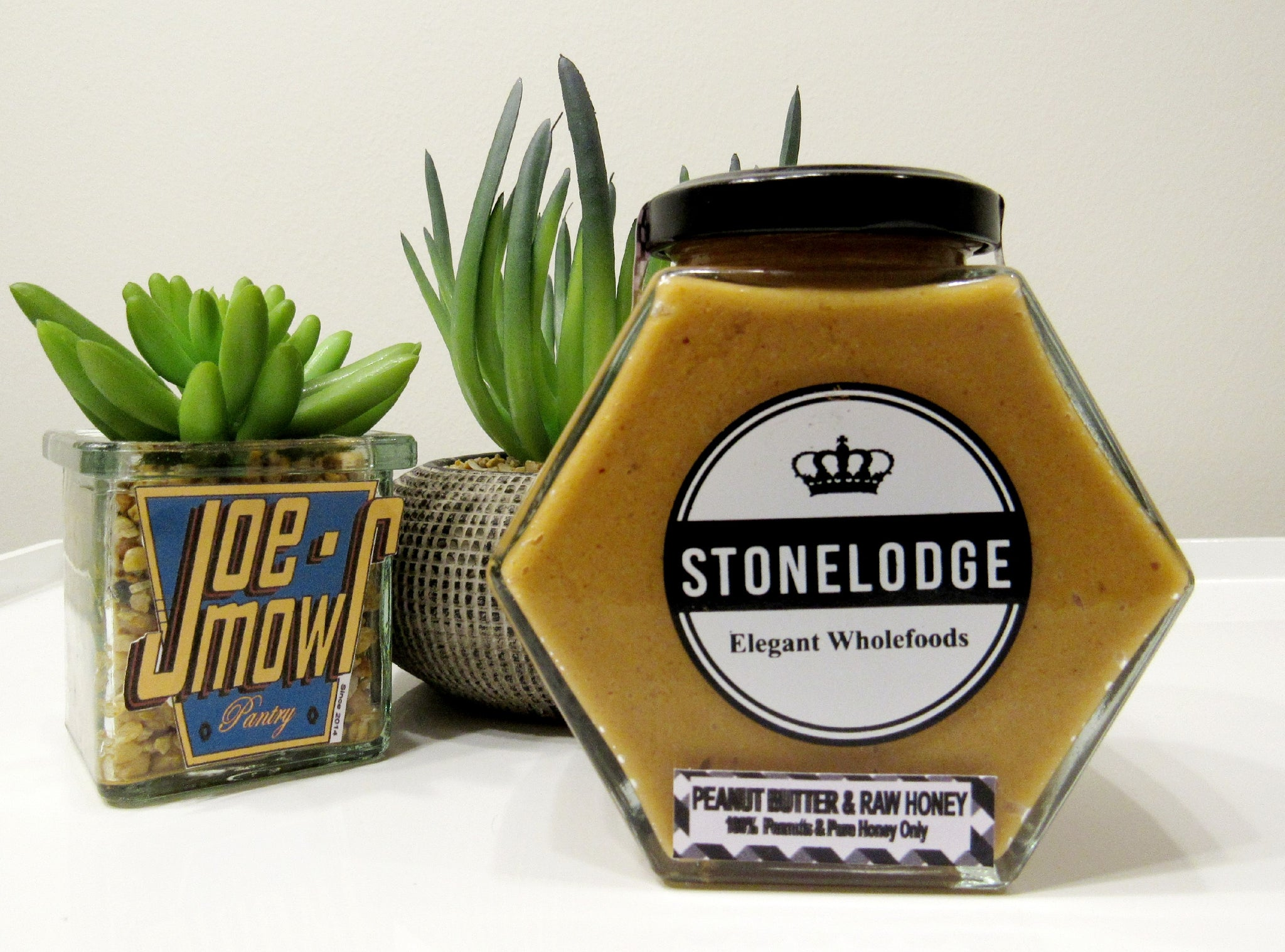 Stonelodge Peanut Butter & Raw Honey 325g