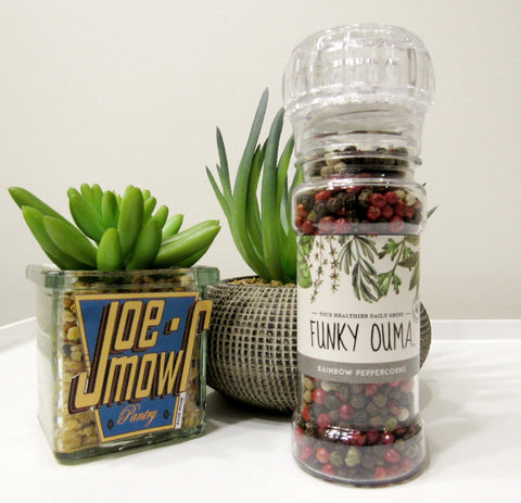 Funky Ouma Rainbow Peppercorns Grinder 50g