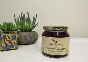 Chaloner Raspberry Preserve With A Hint Of Vanilla 300g
