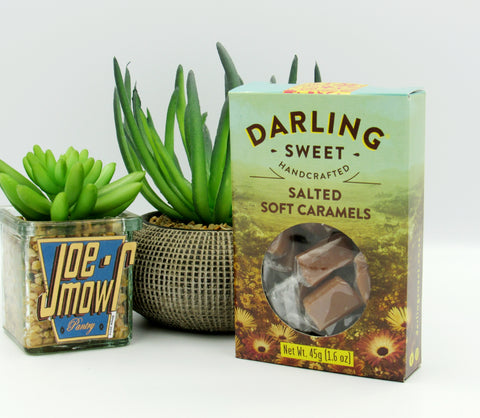 Darling Sweet Salted Soft Caramels 45g