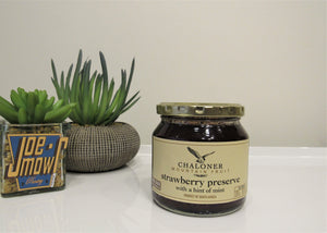 Chaloner Strawberry Preserve With A Hint Of Mint 300g