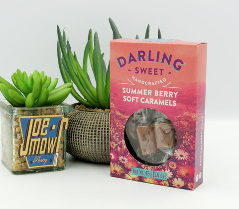 Darling Sweet Summer Berry Soft Caramels 45g