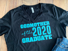 Load image into Gallery viewer, Mom of the Graduate, Dad, Sister, Class of 2020, Any Family, Cute Graduate Shirt Any Color