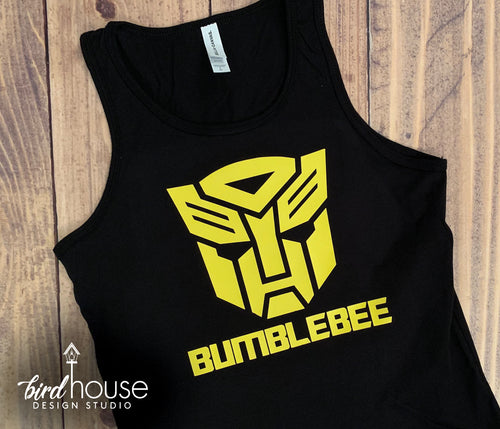 Bumblebee Transformers Shirt, Cute Tee for Universal Studios Vacation, Matching Tees islands of adventure