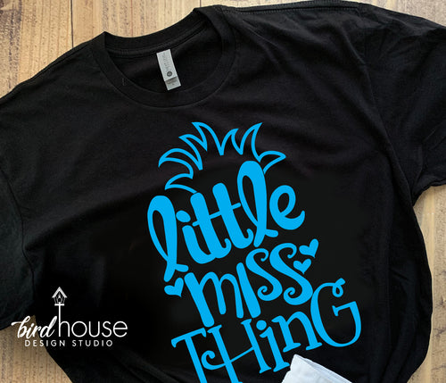 Little Miss Thing Shirt, Dr Seuss Day Tee, Cat in the Hat, Pick 1 Color