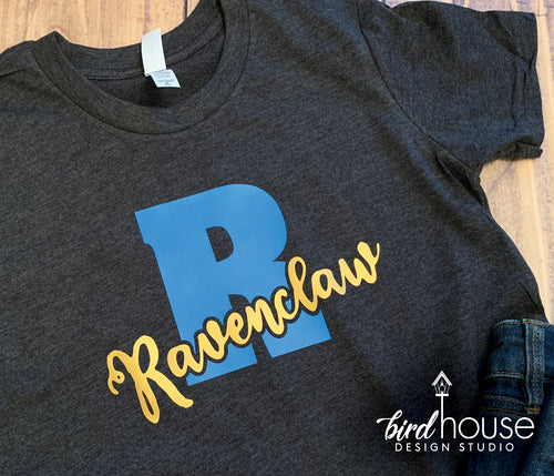 Hogwarts House Ravenclaw, Universal Harry Potter, Cute Matching Tees, Large Letter