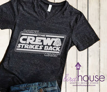 Load image into Gallery viewer, Drink Wars Shirt, Funny Star Wars Drunk Shirts, Matching Disney Food & Wine Tees