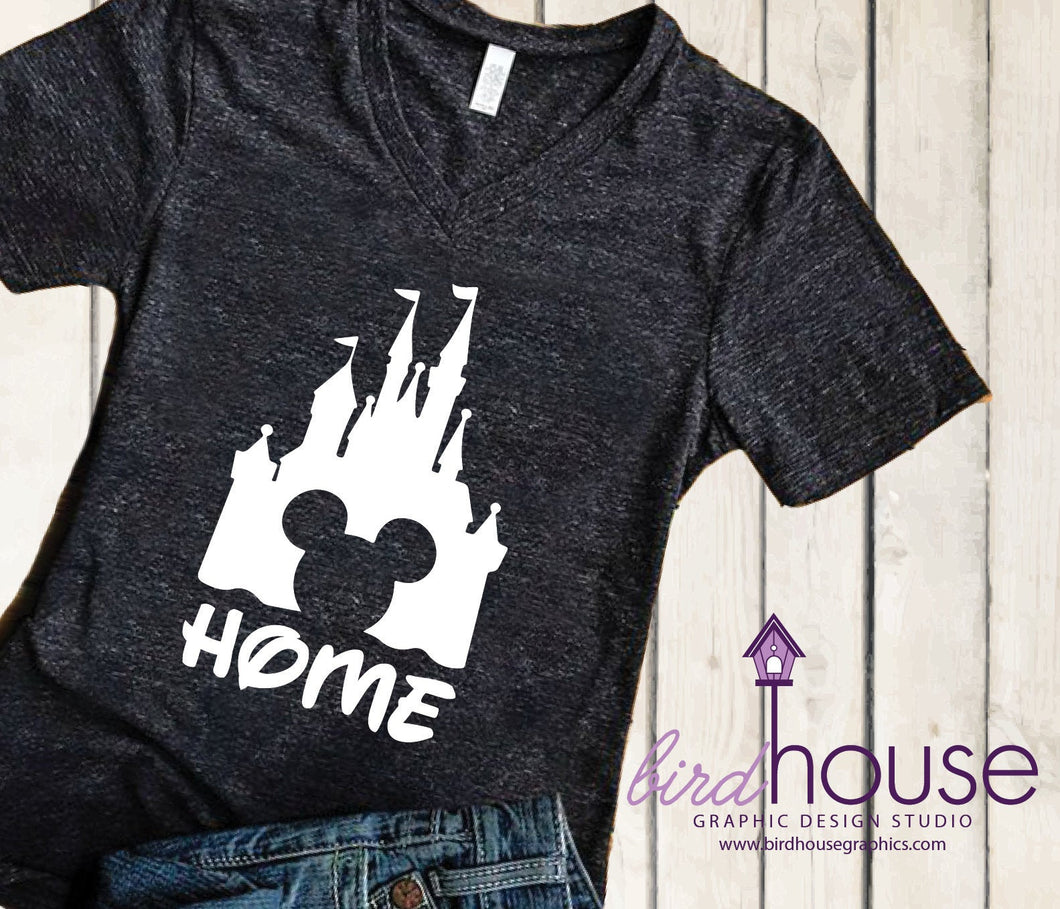 Home Magic Kingdom Castle Shirt, Disney Tee, Any Color, Customize