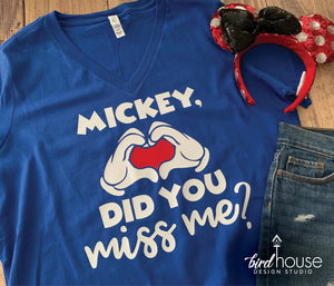Mickey Did You Miss Me? Disney Reopening Shirt, Cute Disneyland T-shirt, Group Reopen Shirts