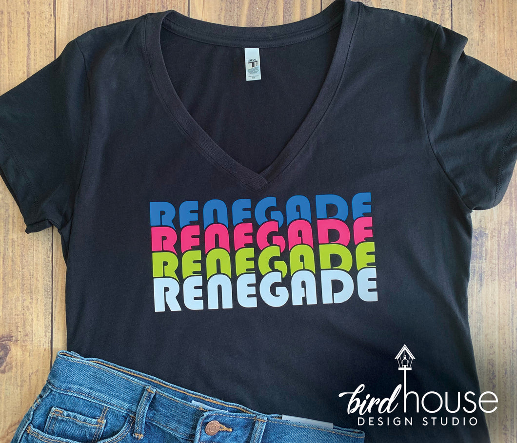 Renegade cute TIK TOK shirt neon