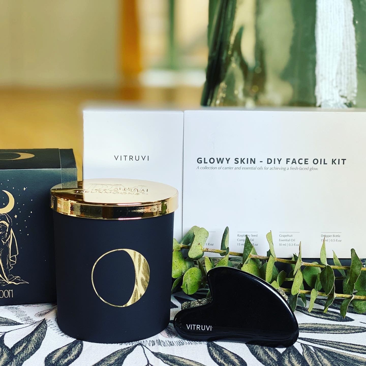 Glow Getter Gift Set from sole+luna wellness