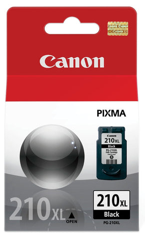 Canon, Inc (PG-210XL) Extra Large Capacity Black Ink Cartridge (401 Yield)