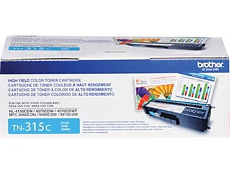 Brother High Yield Cyan Toner Cartridge (3500 Yield)