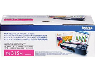 Brother High Yield Magenta Toner Cartridge (3500 Yield)