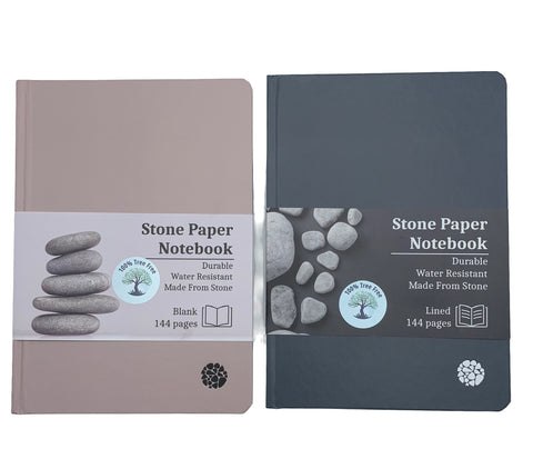 100% Tree Free Notebooks - made from recycled stone