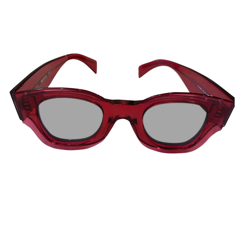 Pre-Owned CÉLINE Red Sunglasses