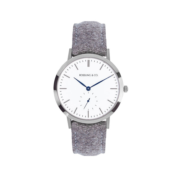 Modern 36mm - Silver / Tweed