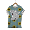 Mother And Baby Koala T-shirt
