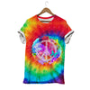 RETRO HIPPIE PEACE T-SHIRT