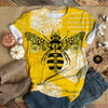 FLOWERY MACHINE BEE T-SHIRT