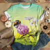 HONEY FLOWERS BEE T-SHIRT