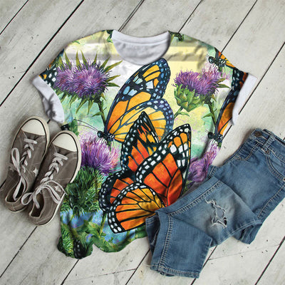 MILKWEED BUTTERFLY T-SHIRT