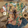 BEE PATTERN T-SHIRT