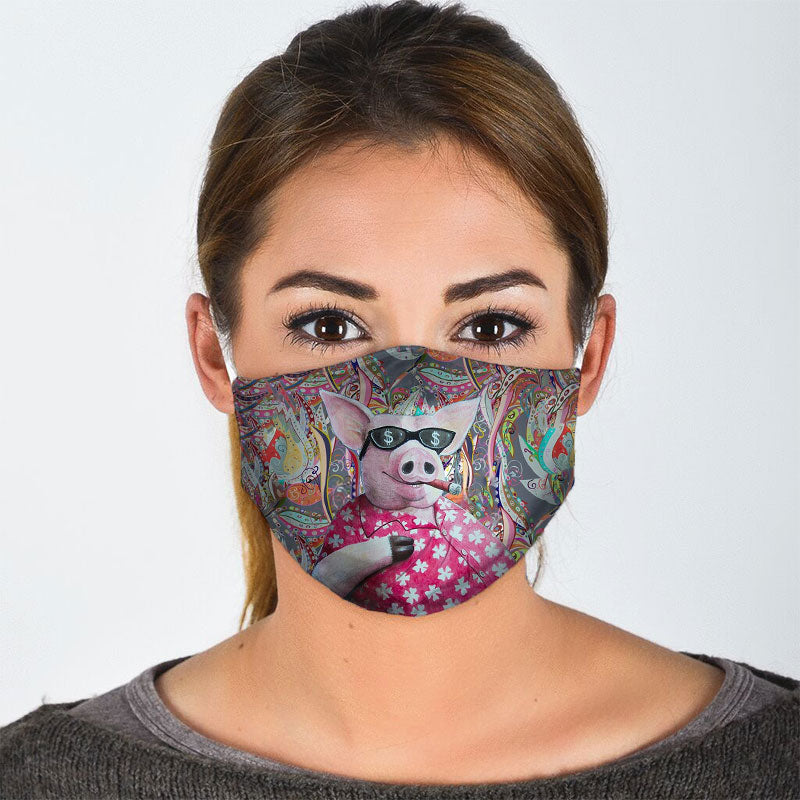 COOL PIG FACE MASK